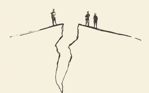Una brecha que no se cierra
