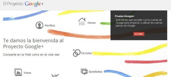 Tiempo de Google+