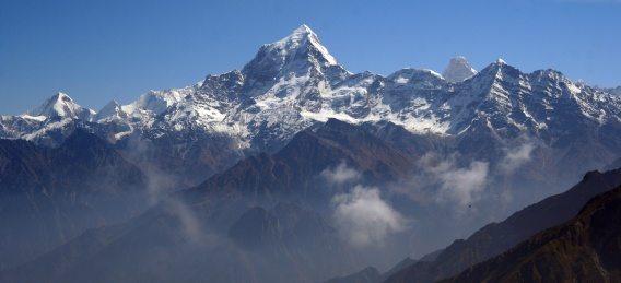 ¿Cuándo has estado frente al Himalaya?