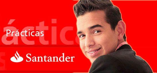 El Banco Santander ofrece 100 prácticas remuneradas para estudiantes universitarios