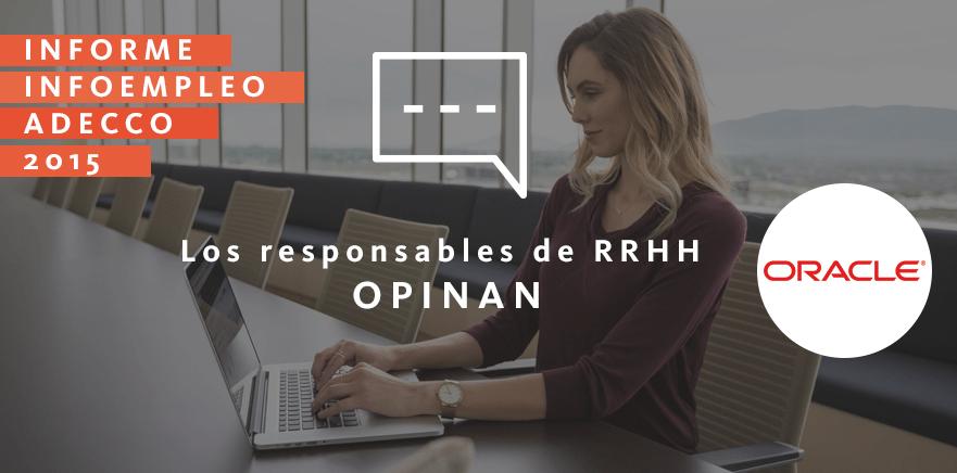 Los responsables de RRHH opinan: Oracle
