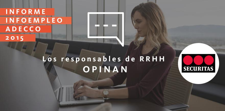 Los responsables de RRHH opinan: Securitas Seguridad España