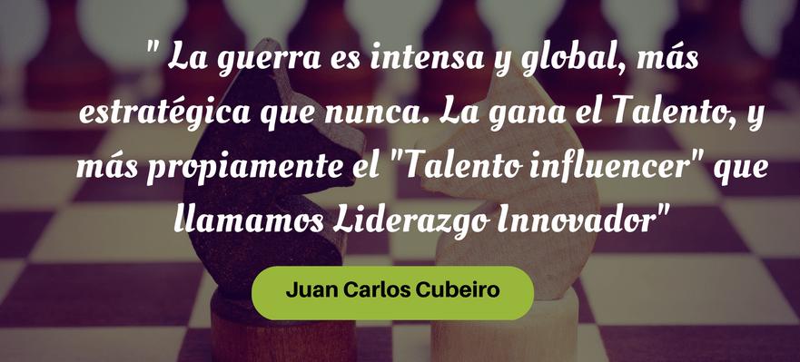 Guerra de talento de Juan Carlos Cubeiro, Manpower