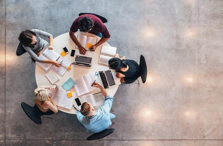 Aprendizaje colaborativo y cooperativo en el ámbito de la empresa