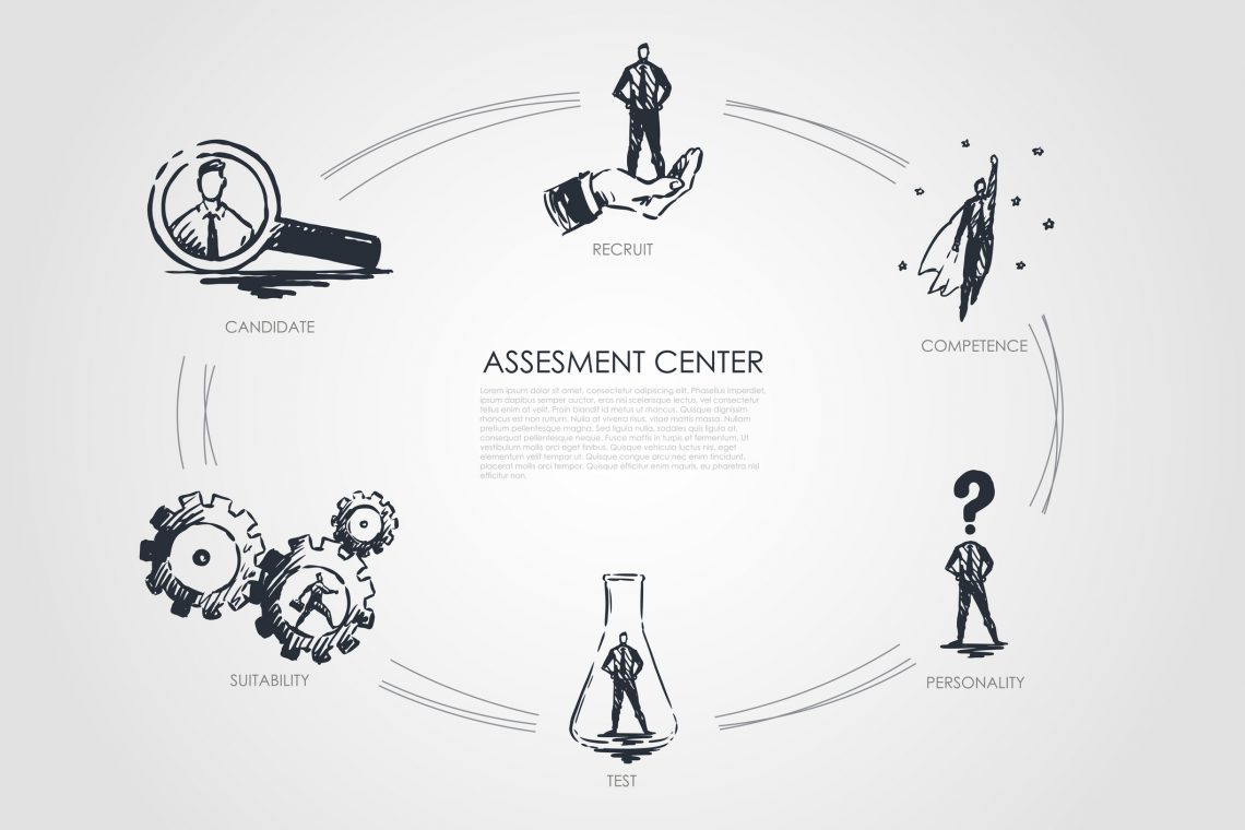 ¿Cómo se hace un assessment center?