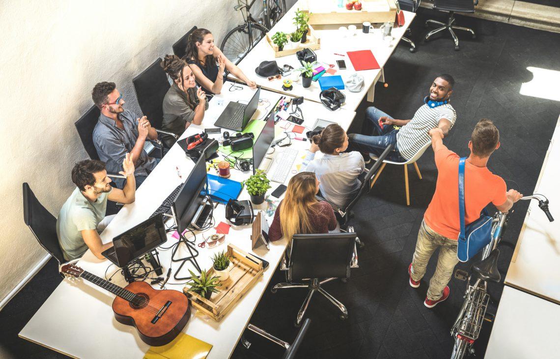 ¿Qué son los sitios calientes en una oficina?