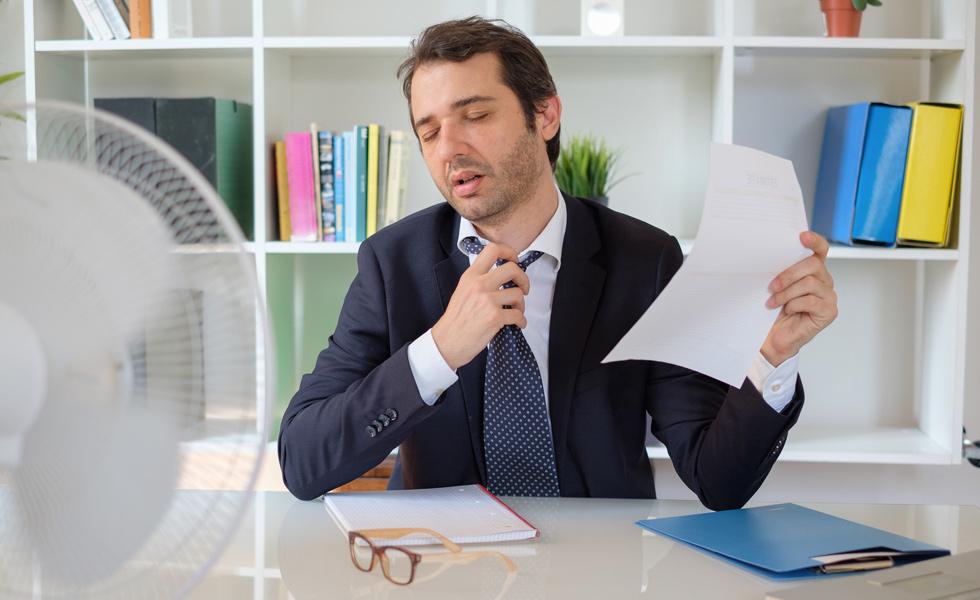 ¿Cómo afecta la temperatura de la oficina a la productividad de los empleados?