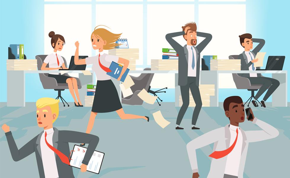 Cómo algunos jefes provocan estrés laboral en sus trabajadores