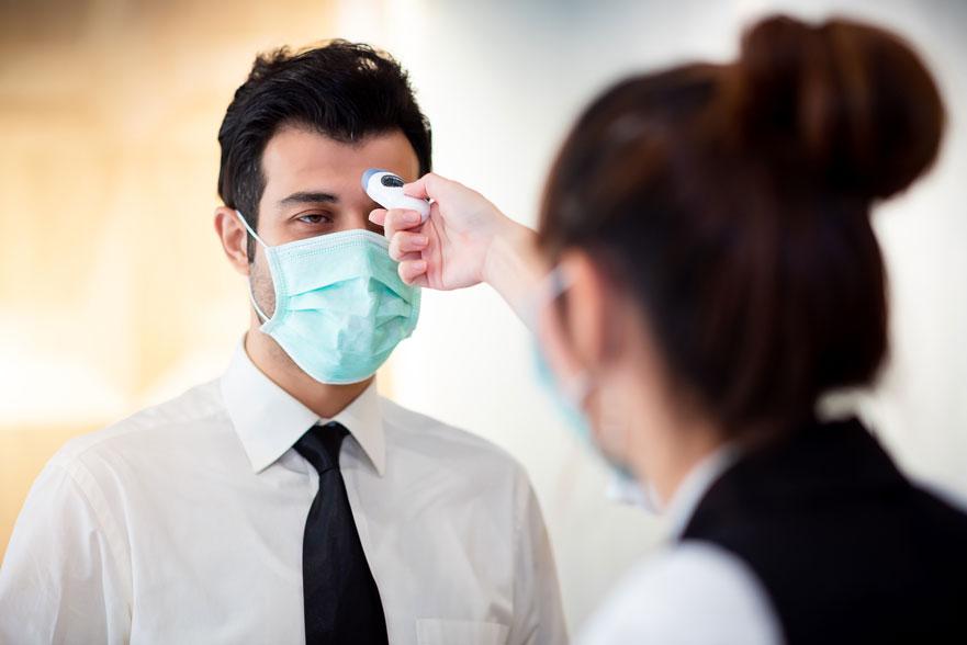 Controles sanitarios y reconocimientos médicos de empresa en tiempos de pandemia