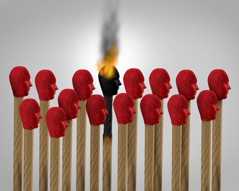 Qué es y cómo combatir el burn out