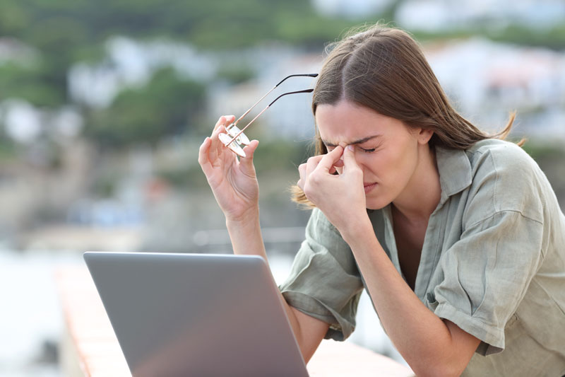 Riesgos asociados al uso de pantallas